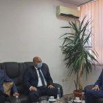 Kryetari Berisha priti në takim Kryesuesin e Këshillit Gjyqësor të Kosovës z. Skender Çoçaj dhe Drejtorin e Sekretariatit të Këshillit Gjyqësor të Kosovës, z. Shkëlzen Maliqi