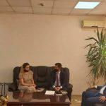 Kryetari Berisha priti në takim Kryetarin e Odës së Ndërmjetësuesve