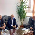 Kryetari Berisha priti në takim Kryetarin e Komunës së Pejës