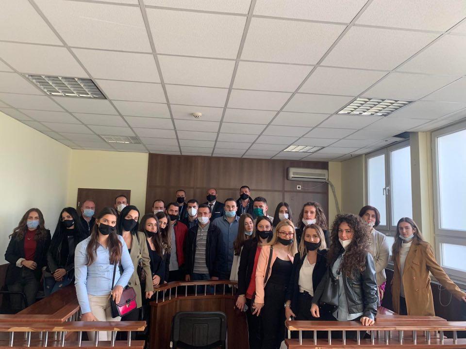 Fillojnë praktikën njëzet e pesë praktkantë në Gjykatën Themelore në Pejë