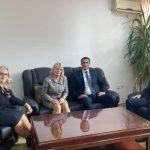 Kryetari i Gjykatës priti në takim gjyqtarët mbikëqyrës të degëve të Gjykatës Themelore në Pejë